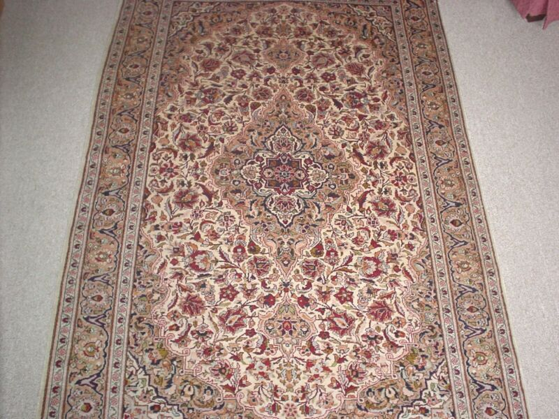 HIGH END Pure Silk Area Rug Beautiful Traditional Design Gorgeous Colors