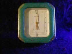 SEIKO Vintage TRAVEL ALARM CLOCK   Ref QQQ181M