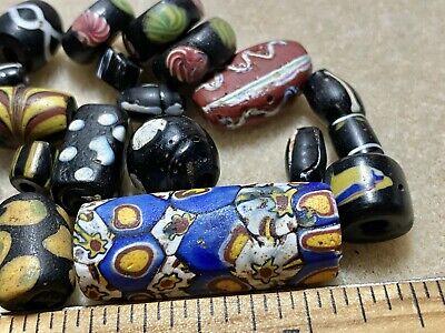 Antique Assortment Of Glass Trade Beads