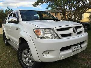 2006 Toyota Hilux SR5 Auto 4x4 DIESEL REGO TILL 22/09/2017 Narwee Canterbury Area Preview