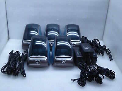 Lot Of 5 Dymo Labelwriter 400 Thermal Label Printers