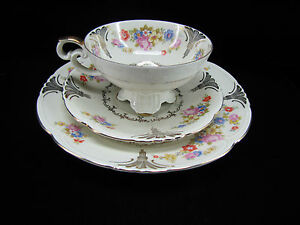 Bavaria Tea Trio Set - Cup, Saucer, Plate