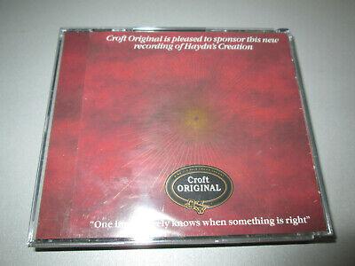 CD - Haydn - The Creation - Simon Rattle - Auger Langridge Thomas EMI 2CD-Box
