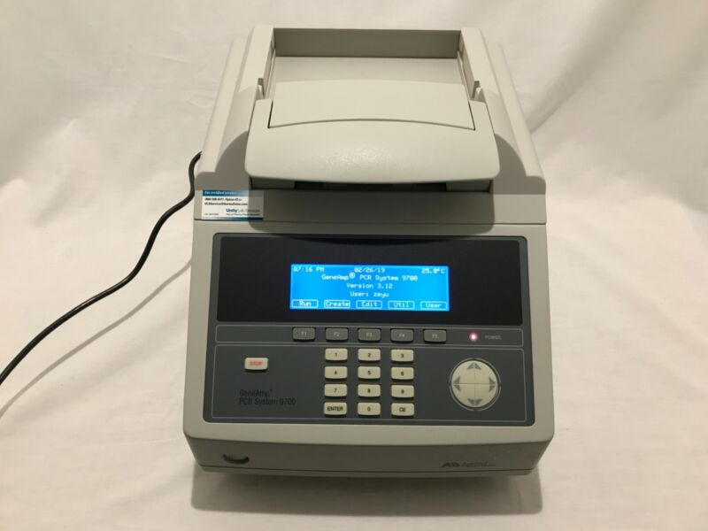 Applied Biosystems GeneAmp PCR System 9700 Thermocycler (96 wells)