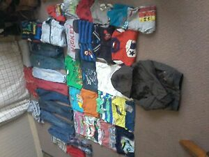 Big bag of boy's brand name clothes sz.4-5 asking $ 35