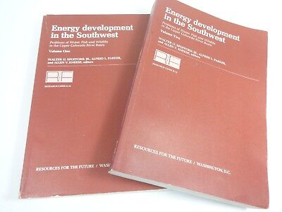 Energy Development In The Southwest  Problems Of Water  Fish  Wildlife Colorado