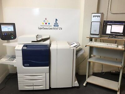 Xerox Color 560 Copier Printer Scanner Ex560 Finisher Great Consumables 266k