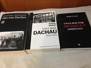 3 Books Bought at Auschwitz