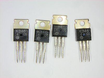 2sk346 Original Hitachi Fet Transistor 4 Pcs
