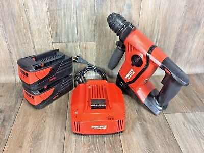Hilti-te 6-a 36 Kit-36v- Free Case - Li-ion Rotary Hammer Drill-drs-sds-plus 7