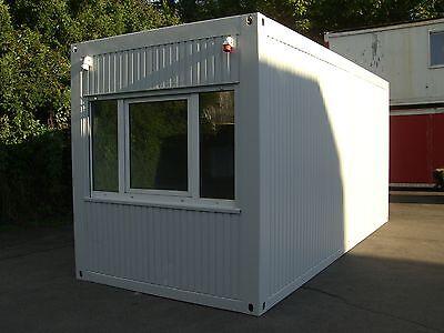 Bürocontainer 6m x 2,5m Wohncontainer Baucontainer Container Bau