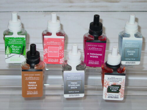 BATH & BODY WORKS WALLFLOWERS HOME FRAGRANCE REFILL *SINGLE* YOU CHOOSE SCENT