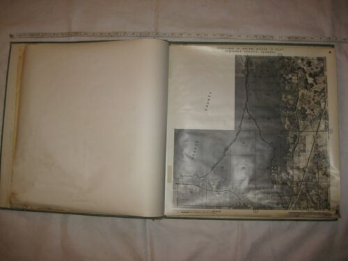 1969 Land Ownership Atlas of Seminole Co FL~J M Smedley~Overlays on Ariel Photos