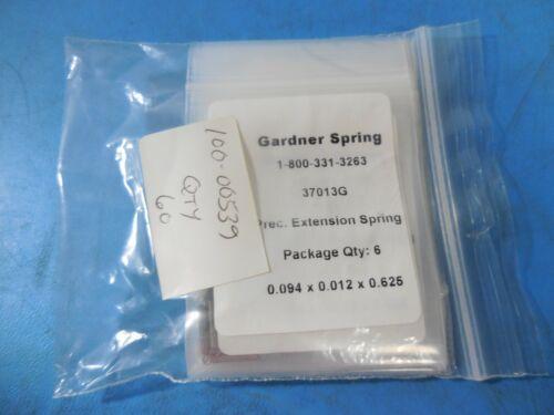 Gardner Spring 37013G Precision Extensiion Spring 0.094 x 0.012 x 0.0625 (60pcs)