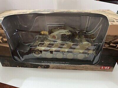 tanque 1/43 Tiger VI Aleman WWII