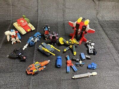 Vintage 90S Transformers Lot
