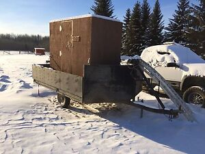 Ice fishing shack for trade or buy