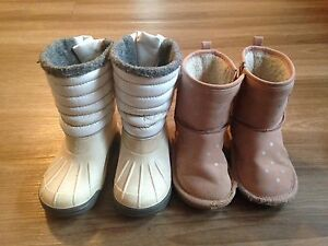 Kid winter boots size 26 (2 pairs of each)