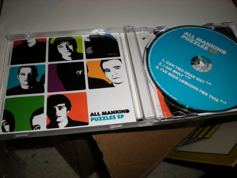 All Mankind Puzzles EP CD