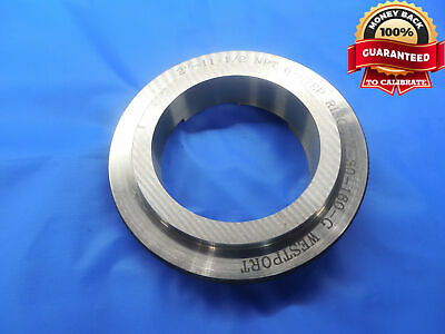 2 11 12 Npt 6 Step Ring Pipe Thread Ring Gage 2.0 2.00 2-11.5 Nptf 6-step