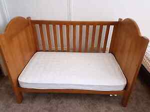 Boori cot including mattress. Beautiful and well looked after Strathfield Strathfield Area Preview