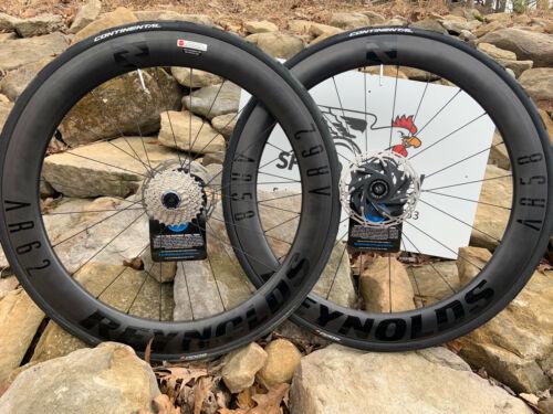 NEW 2021 Reynolds AR 58/62 disc brake wheelset, Lifetime warranty!