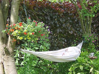 Strong, Comfortable Hammock - Perfect Birthday Present with FREE Hooks..