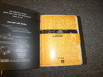 John Deere 440 Skidder Crawler Loader Parts Catalog Manual Pc1256