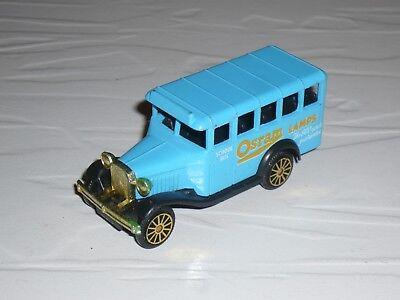 1:64 Corgi Bedford Bus Truck LKW 1920s 1930s Osram Lamps van lorry diesel camion comprar usado  Enviando para Brazil