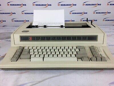 Ibm Personal Wheelwriter 6781 Typewriter Seller Refurbished Test Letter Included
