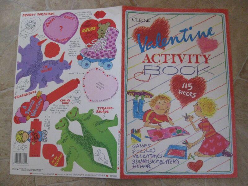 Valentine Activity Book/Kit ~  rare vintage CLEO - $27.77