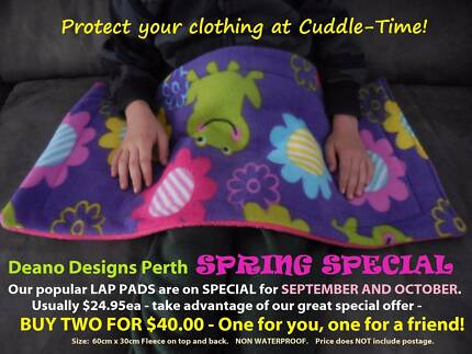 Protect your clothing at cuddletime! Melbourne CBD Melbourne City Preview