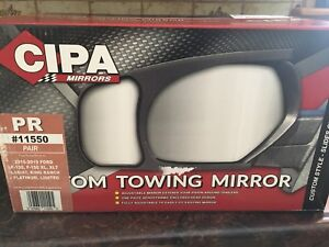 Trailer towing mirrors (Ford)