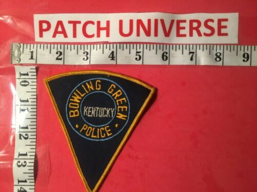 VINTAGE BOWLING GREEN KENTUCKY POLICE  SHOULDER PATCH  P134