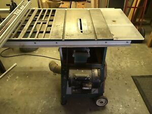 """Contractor's 10"""" Table Saw"""