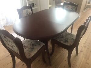 Parker style dining suite