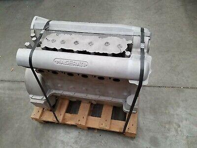 MASERATI A6GCS NOS FACTORY PININFARINA ZAGATO FRUA ENGINE BLOCK HEAD PAN