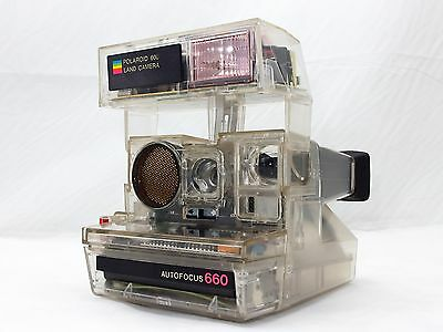 Ultimate rare!! Polaroid AUTO FOCUS 660 Transparency,Skeleton model, for display