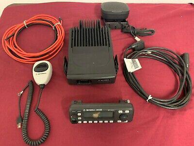 Upgraded Motorola Mcs2000 Vhf 110 Watt 250ch Smartzone 146-174mhz Remote Radio