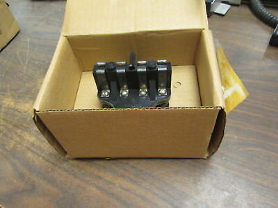 Ge Test Plug 6129533g1-qc 4 Poles New Surplus