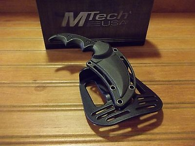Tactical Boot Knife - Boot Belt Knife Tactical Self Defense Karambit MTech Paddle Paddle Holster