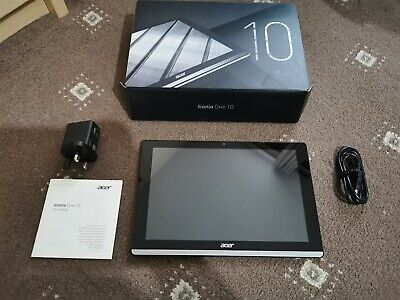 """Acer Iconia One 10 B3-A50FHD 10.1"""" Tablet Atom MT8167A 2GB 32GB + accessories"""