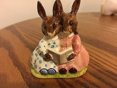 Royal Doulton Bunnykins Figurine DB9 Storytime Bunny 1974 Pristine