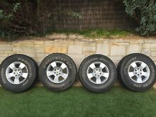 Nissan Navara D40 rims and tyres Dunlop Belconnen Area Preview