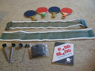 Travel Miniature Ping Pong Table Tennis Game