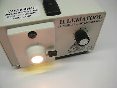 Lightools Research Illumatool Lighting Fiber Optic Illuminator Light Source A100