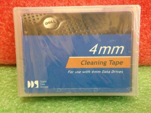 NEW Dell 4mm Data Drive Cleaning Tape, Sealed DDS P/N 01X023  *9a