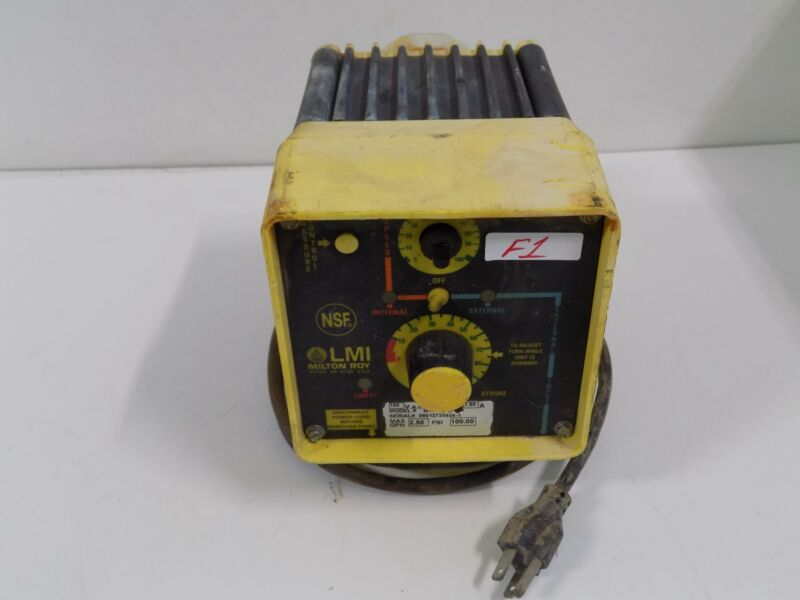 LMI MILTON ROY ELECTROMAGNETIC DOSING PUMP B72195T