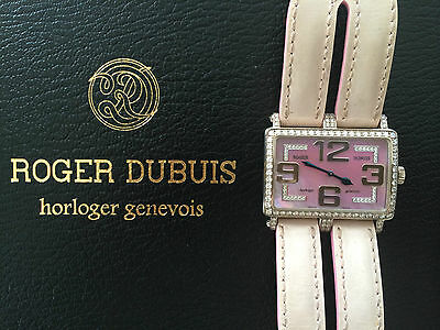 Roger Dubuis Pink Lady's Too Much 18K gold diamond watch number 4/28 rare