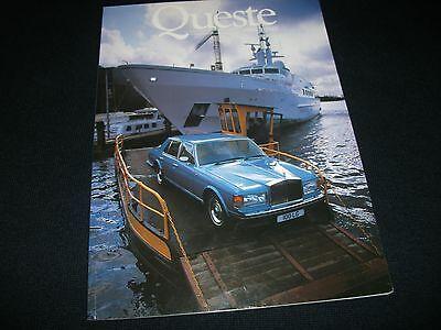 ROLLS ROYCE/ BENTLEY Queste Magazine Issue Three